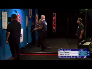 Steve Beaton vs James Wade (PDC Gibraltar Darts Trophy 2014 / Final)