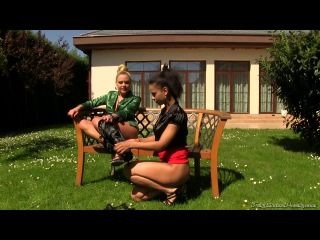 : Isabella Chrystin & Barra Brass - Golden Shower Lesbo Lickers (2014) HD