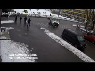 ШОК!! Водитель 343 маршрутки сбил ребёнка на Дворцовом!