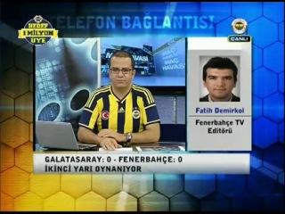 Sneijder'in 1 golü anında Fenerbahçe TV