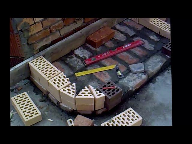 Камин в доме Мангал из кирпича видео инструкция полное руководство с озвучено мастером