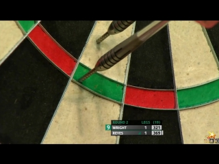 Peter Wright vs Cristo Reyes (PDC European Championship 2016 / Round 2)