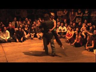 BTF 2009 - impro Pablo Inza & Cecilia Garcia @ Vaudeville Brussels Tango Festival