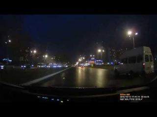 ДТП Газель при перестроение ударила легковушку