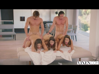 Riley Reid, August Ames, Abella Danger, Mick Blue & Jean Val Jean - Girl's Day Out