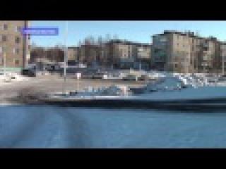 Советская Гавань.Шлак на дорогах.Январь 2017