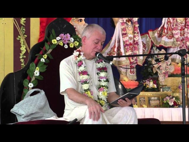 Садху Санга 2014 лекция Чайтиньи Чандры Чарана встреча Джаяпатаки Свами