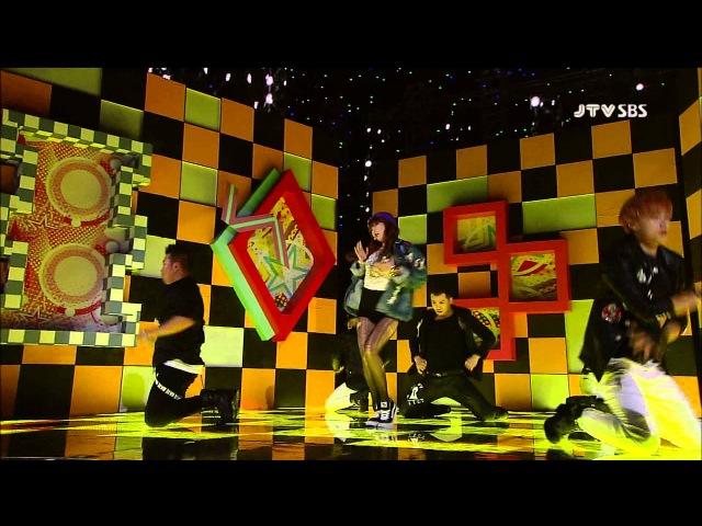 Live HD HyunA Ice Ceam @ SBS Inkigayo 4 11 2012
