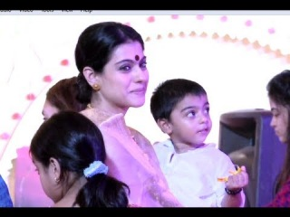 Spotted - Kajol and Ajay Devgn's Son - Yug Devgn!!! - UTVSTARS HD