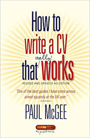 1mcgee paul how to write a cv that really works