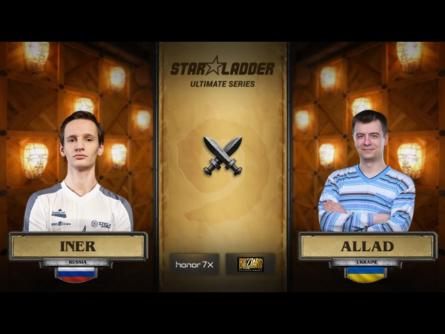 Iner vs Allad StarLadder Hearthstone Ultimate Series