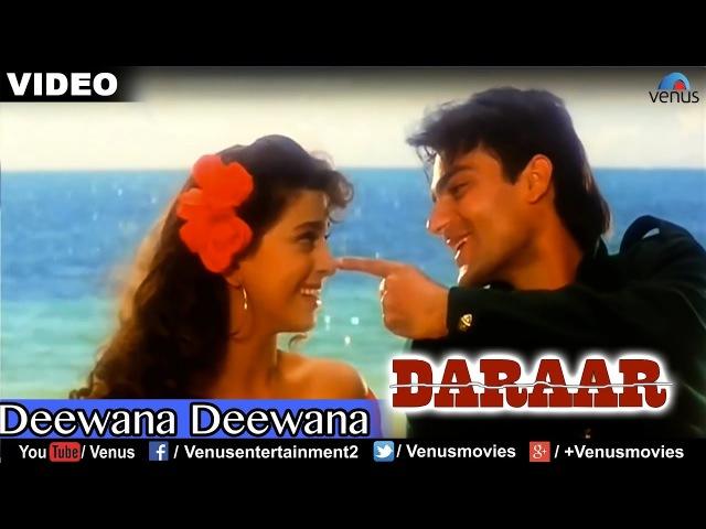 Deewana Deewana Full Video Song Daraar Rishi Kapoor Juhi Chawla Arbaaz Khan