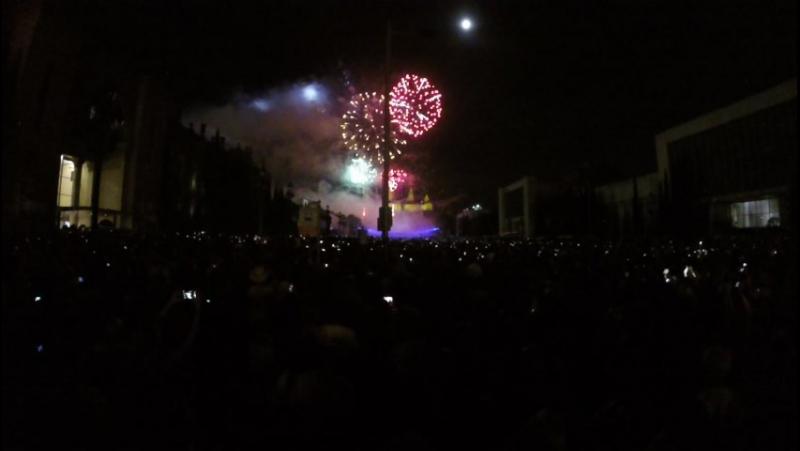 La Mercé fireworks, Barcelona Aug24 2015
