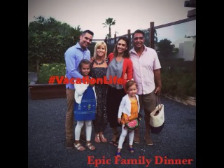 """Jessica Alba on Instagram: """"One of the most amazing and beautiful evenings with family... ever 🙌🏽 -took farm to table to a whole new level #vacationlife w @cash_warren…"""""""