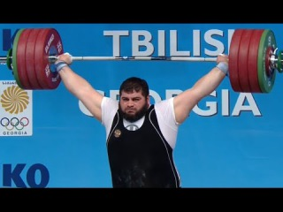 2015 European Weightlifting Championships +105 kg Men \ Тяжелая атлетика Чемпионат Европы