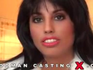 Woodman X Casting - Rachida arab girl