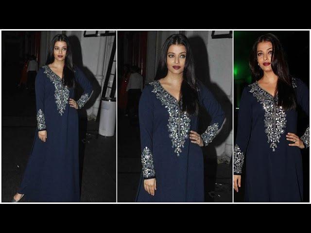 Aishwarya Rai Bachchan And Jazbaa Star Cast At jazba Wrap Up Party
