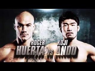 ONE: Roger Huerta vs. Koji Ando | September 2015 | FULL FIGHT
