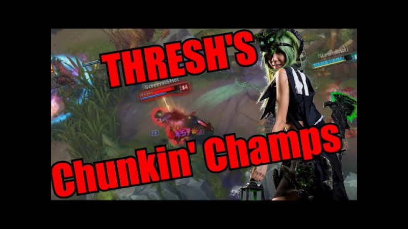 THRESH'S CHUNKIN' CHAMPS Rip in peace sword of the divine