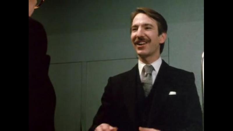 Алан Рикман в сериале`Люди Смайли` Smiley's People BBC televison drama 2 я серия