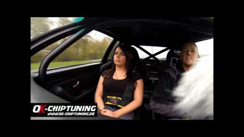 Audi S2 GT42 powered byOk Chiptuning Test Drive V Audi S2