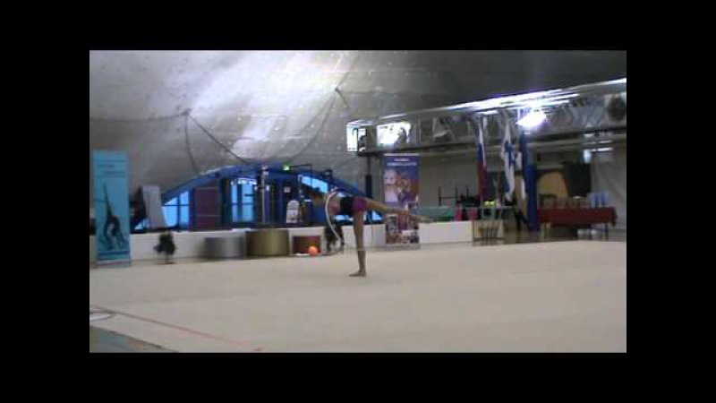 SVS Open 2013 Jelizaveta Nazarenkova RUS Hoop