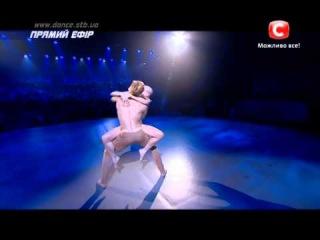"""Танцуют всi-7. Постановка ТатьяныДенисовой """"Адам и Ева"""". Танцоры:Лена и Борис"""