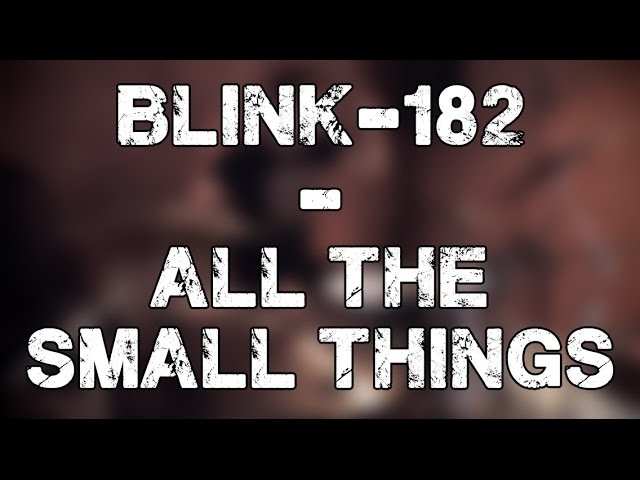 Blink 182 All The Small Things Drum Cover by Alex Tkachev