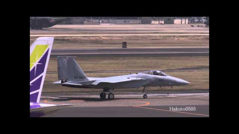 航空自衛隊 F-15J Eagle 三菱テストフライト