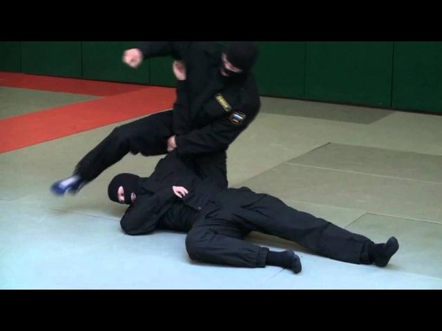 ОМОН. Видео рубрика по самообороне и боевому самбо. Урок №6