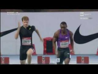 Femi Ogunode  (+1.4) 100m - Rieti Meeting 2015
