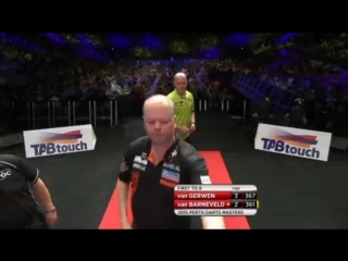 Michael van Gerwen vs Raymond van Barneveld (Perth Darts Masters 2015 / Quarter Final)