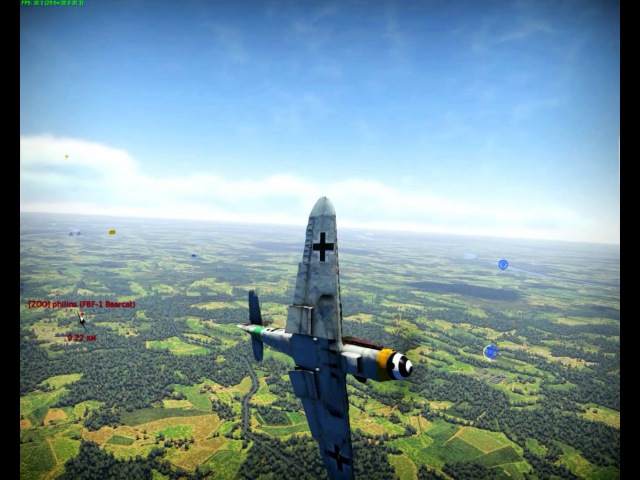 Bf.109K-4 vs F8F-1 Bearcat