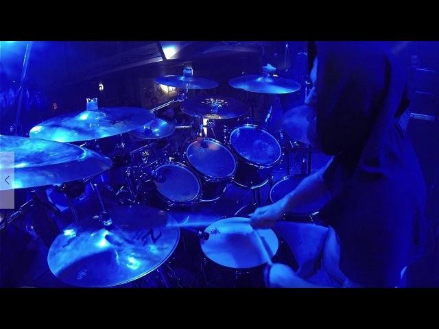 BLAZE OF PERDITION@When Mirrors Shatter Vizun Live in Poland 2017 Drum Cam