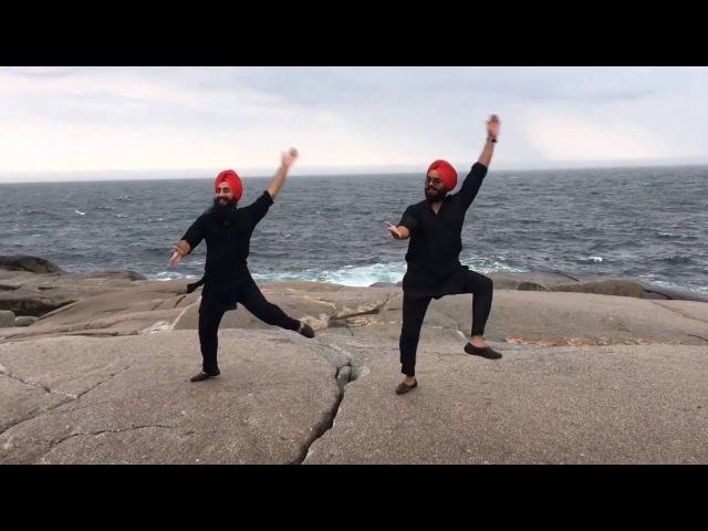 Jatt Mele a Gya Maritime Bhangra Group Bhangra at Peggy's Cove Halifax NS Canada
