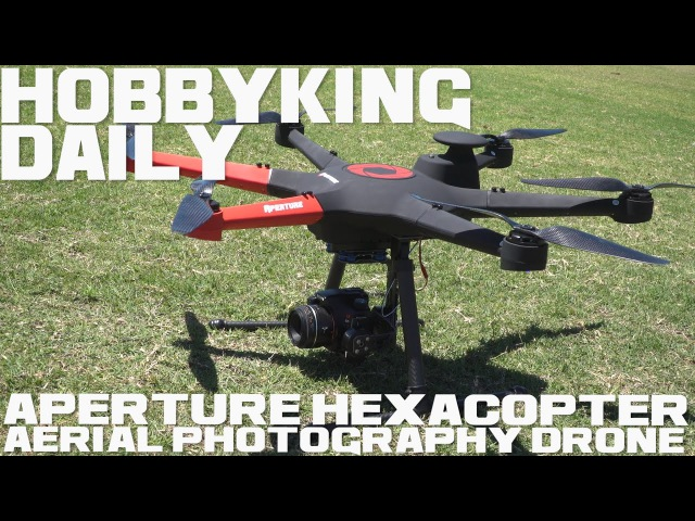 HobbyKing Super Daily Aperture Hexacopter Aerial Photography Drone RTF