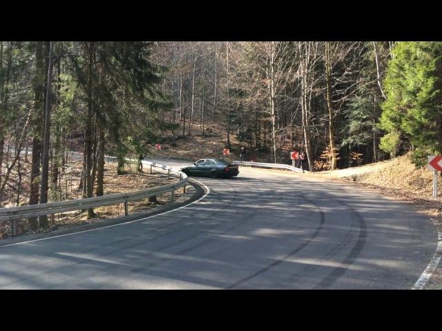 BMW E34 M50B25 touge drift
