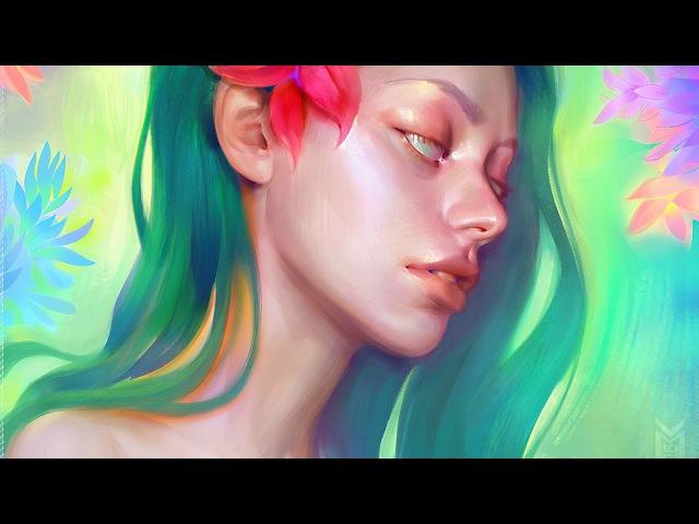 Flora [Digital Painting]
