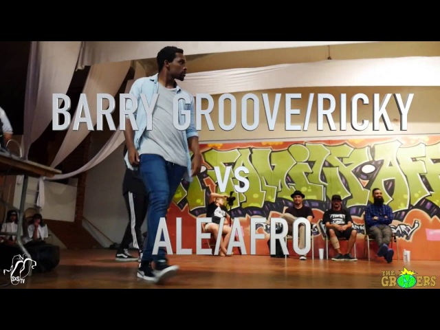 BARRY GROOVE/RICKY COLE vs ALE/AFRO | Top 8 | The Gr818ers: A Family Affair | SXSTV