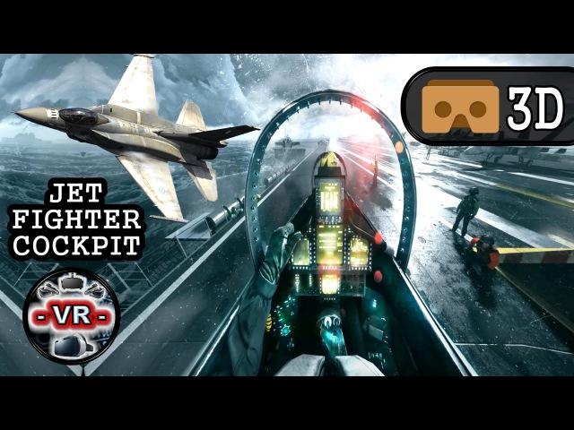 VR Acrophobia 3D VR JET VR Video 3D SBS Google Cardboard VR Box 360 Virtual Reality Videos 3D 4K