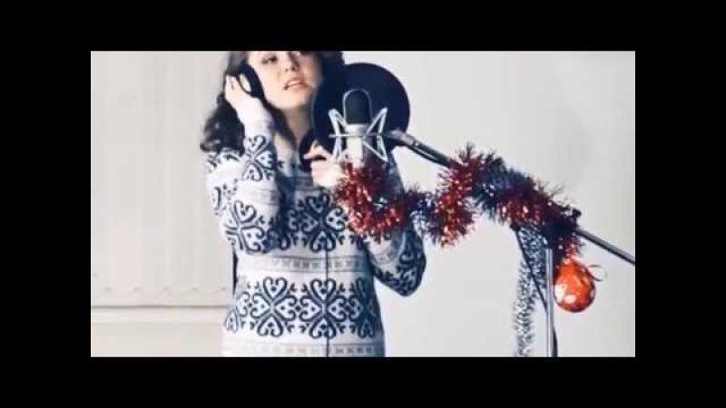 Диана Дяткинская исполнитель песни для новогоднего промо ролика телестанции Канал 12