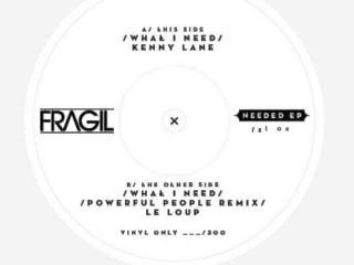 B. Kenny Lane - What I Need (Powerful People Remix -Le Loup)  ( FGL06 )