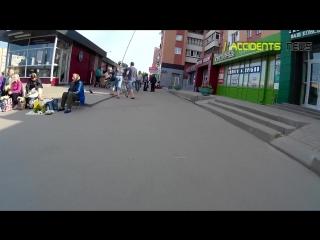 Харьков. Милиция с военкомами раздают повестки парням