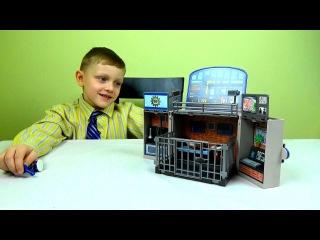 Конструктор Playmobil Toys .Полицейский участок распаковка .