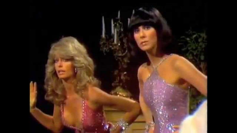Farrah Fawcett and Cher SONNY AND CHER SHOW
