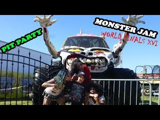 2015 Monster Jam World Finals XVI Awesome Pit Party