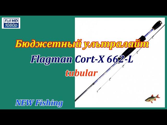 Бюджетный ультралайт Flagman Cort X 662L tubular