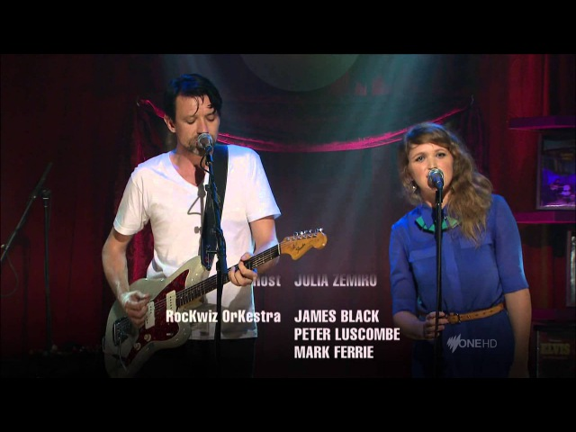Paul Dempsey Emily Lubitz - Out Of Touch - Hall Oates Cover (Live on RocKwiz)