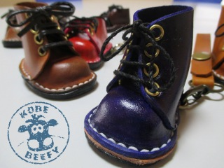 How To Make Mini Leather Boots / Shoes