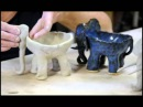 Clay time with Liz Project 2 elephant ice cream bowl